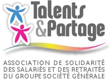 Logo Talent et partage