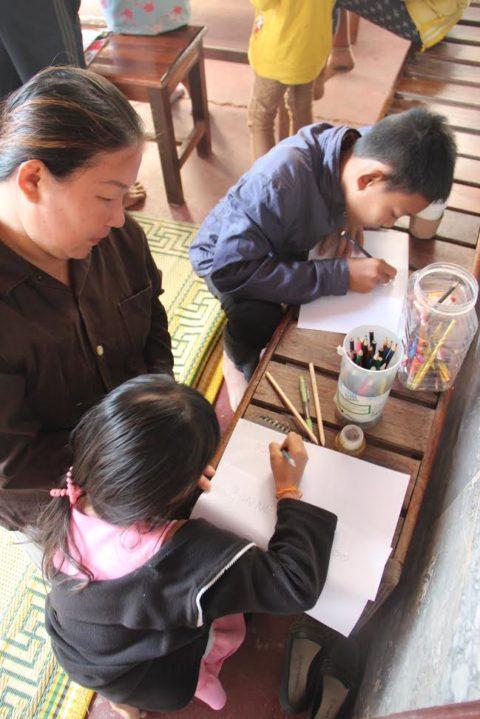 Mission humanitaire d'art thérapie