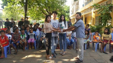 Young riders organized a fundraising campaign