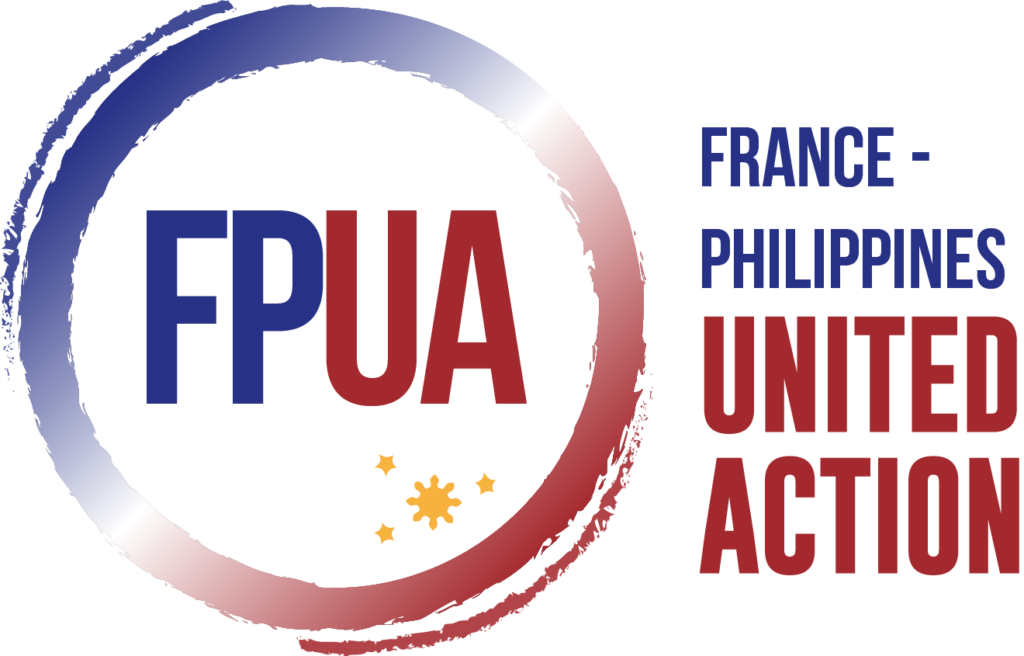 Logo France - Philippines United Action