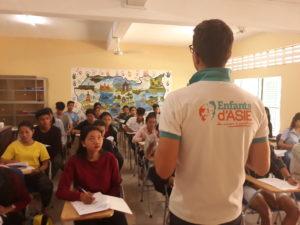 Bénéficiaire Enfants d'Asie en cours