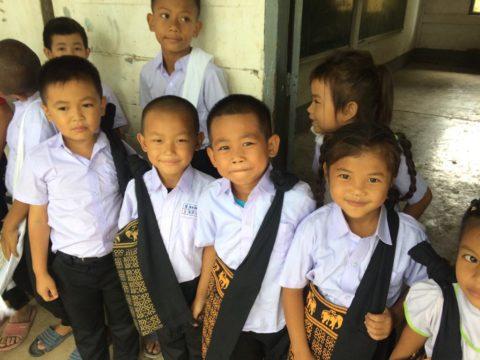 Nouveau programme de scolarisation d'enfants à Luang Prabang au Laos