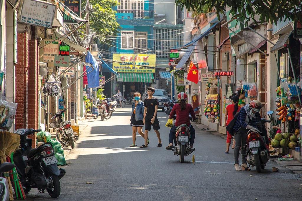 Rue du Vietnam - Enfants d'Asie