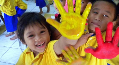 Centre d'accueil de jour d'Ermita aux Philippines -enfants d'Asie